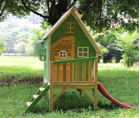 kinderhaus garten kinderhaus luca holzhaus kinderspielhaus rutsche