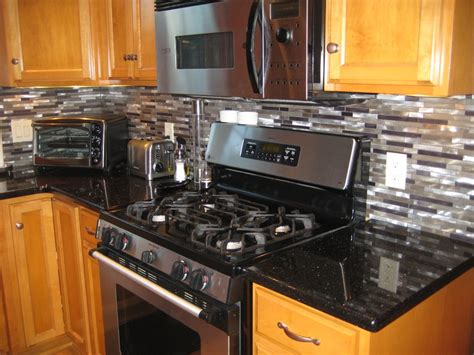 black kitchen backsplash ideas kitchen kitchen backsplash ideas black granite
