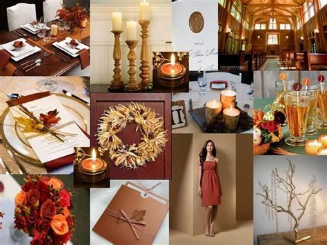 burgundy burnt orange wedding   DIY Fall Country Wedding