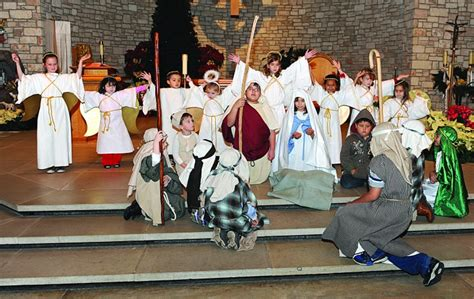 notre dame catholic church christmas play daily times