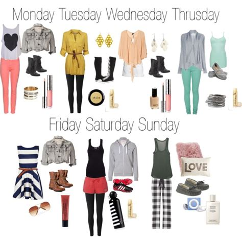 Clothes My Back Wednesday by Middle School Highschool Week Polyvore