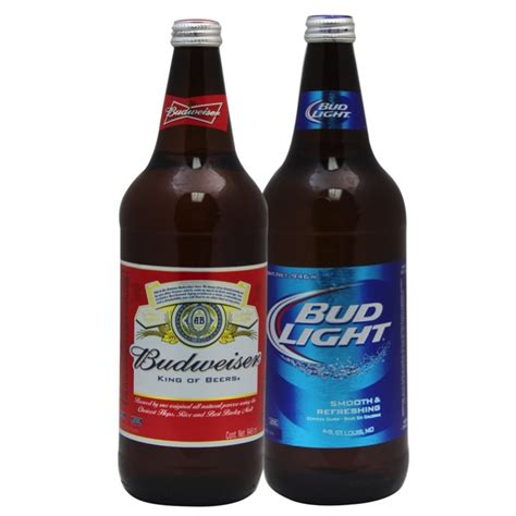 budweiser and bud light cerveza bud light o budweiser smart