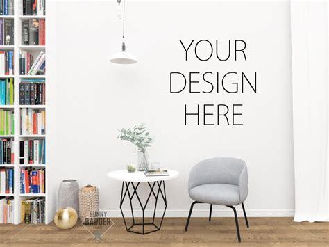 Livingroom Set Up Best 14 Wall Mockups For Interior Designers