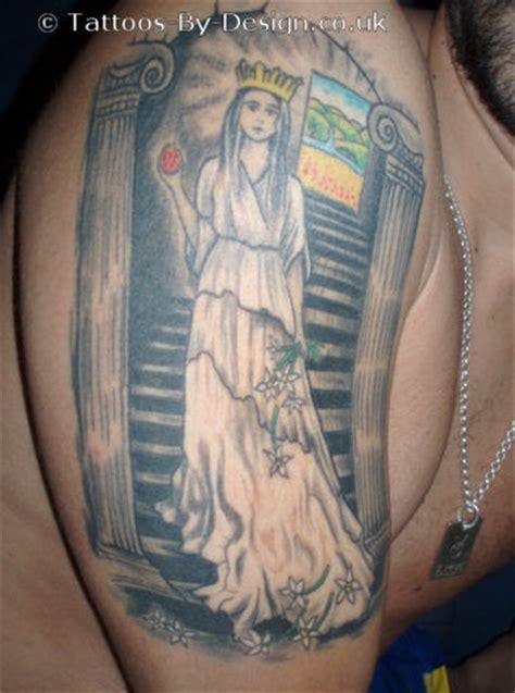 high priestess tattoo high priestess