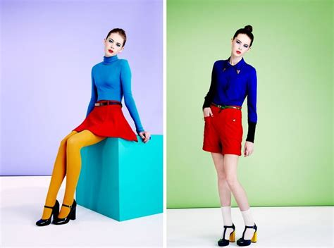7 Colour Blocking Tips by 18 Best Colour Images On Style Fashion