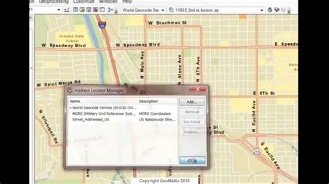 geocoding tutorial arcgis 10 2 60 best images about how to arcgis on pinterest editor