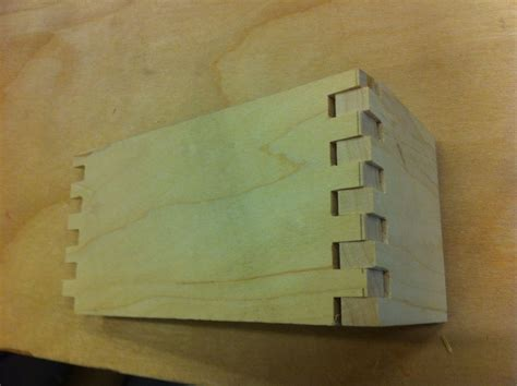 quick box  box joints  steps  pictures