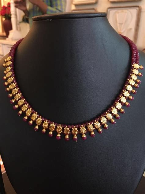 small black jewellery designs 1000 ideas about indian gold jewellery on