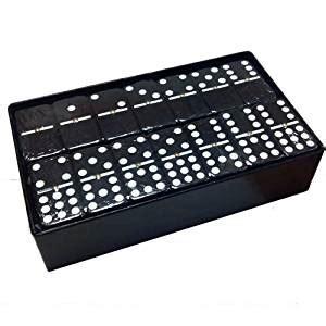 511 Turn Back Crime Black Box Exclusive domino 9 black jumbo tournament size toys