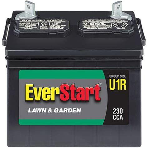 walmart lawn and garden battery