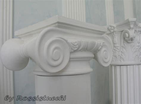 colonne in gesso per interni colonne in gesso realizzazioni e posa in opera dei