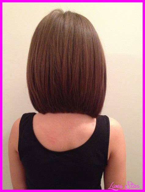 bob cut hairstyles front and back images long layered bob haircuts back view livesstar com
