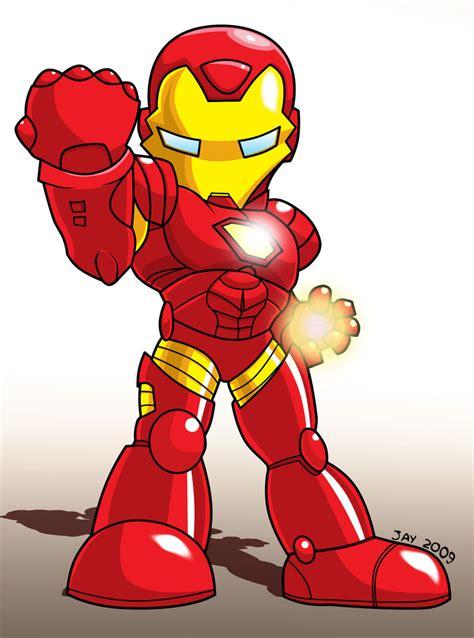 Figure Captain America Ironman Chibi chibi iron by jaeyredfield on deviantart