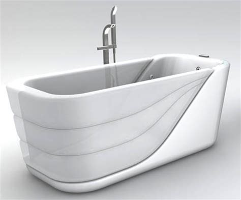 basic bathtub sleeker inflatable solution reinvents basic walk in bathtub