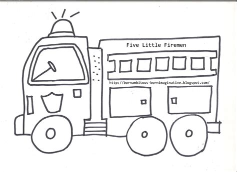 fire truck template www pixshark com images galleries