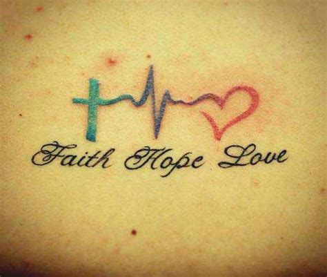 hope faith love tattoo 45 perfectly faith tattoos and designs with