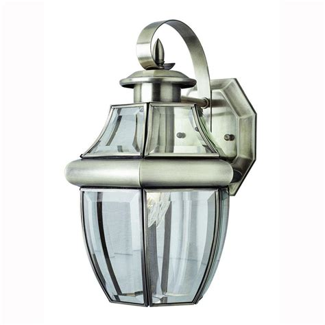 home depot coach lights bel air lighting contemporary 1 light brushed nickel coach