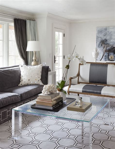 living room settee modern new england style by tiffany eastman la dolce vita