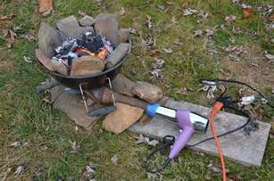 how to make a diy backyard forge homesteadingandprepping