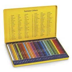 fantasia colored pencils fantasia artist colored pencils set of 36