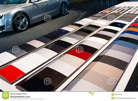 car paint sles stock photo image 40348240