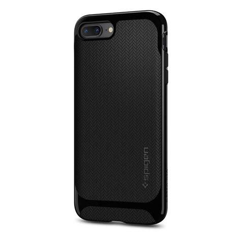 Spigen Neo Hybrid Herringbone Iphone 8 Plus 7 Plus Shiny Black spigen 174 neo hybrid herringbone 055cs22230 iphone 8 plus