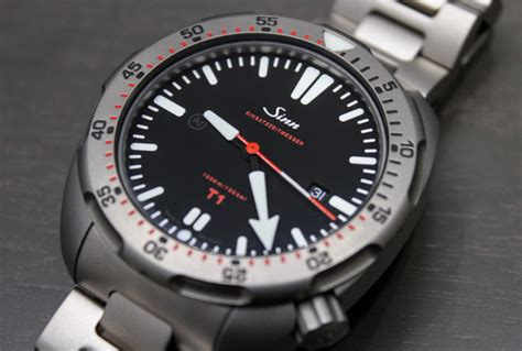 the t1 and t2 titanium dive watches most popular