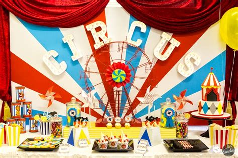 Carnival Theme Decorations Circus Party Anders Ruff Custom Designs Llc