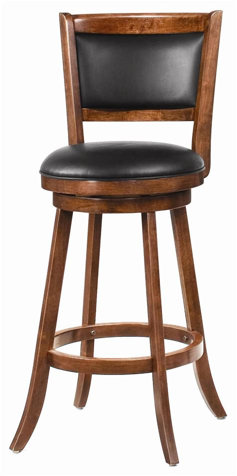 Cool Wood Bar Stools by Furniture Cheap And Cool Leather Swivel Bar Stool With