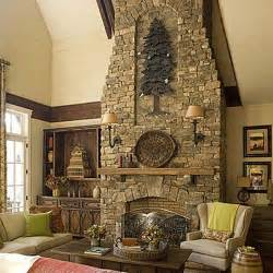 interior home decor chimney beautiful