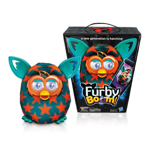 Furby Boom Orange Plush furby boom orange plush ebay