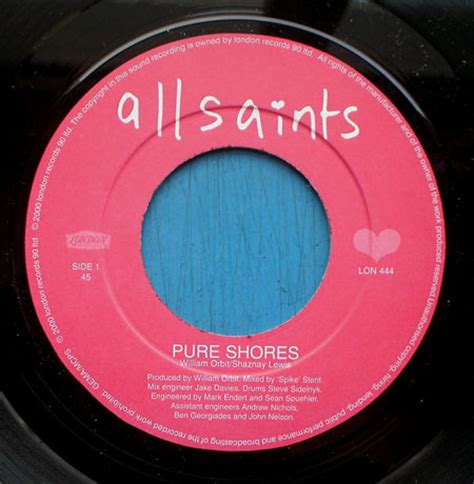 pure swing tracklist all saints pure shores vinyl at discogs