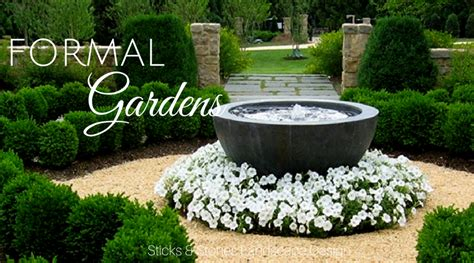 Formal Garden Layout Formal Garden Design