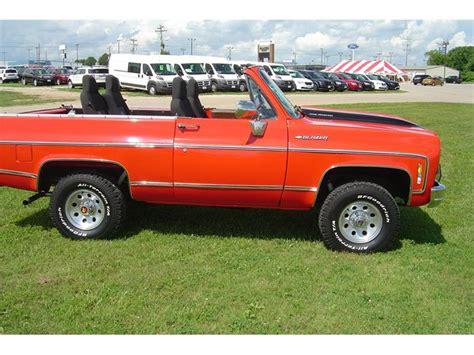 1974 chevrolet blazer for sale classiccars cc 562836