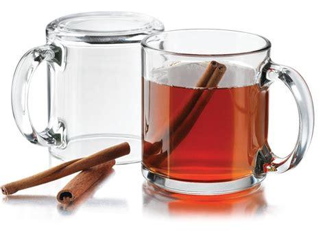 clear coffee mug clear glass coffee mugs set of 4 tea cider latte drinks 13 oz free shipping new ebay