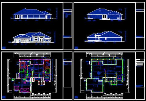 cad house plans cad building template us house plans house type 21 3318sqft