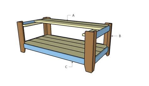building a coffee table how to build a wood coffee table howtospecialist how