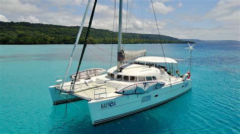 catamaran vs monohull offshore sailing around the world in a catamaran