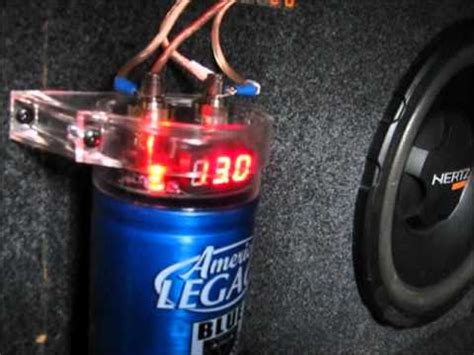 a capacitor is made from a sandwich of a of paper legacy subwoofer capacitor in my alfa 145