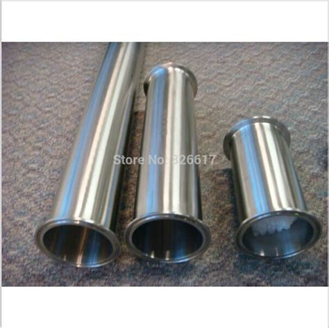 Sanitary Ss304 Dia 6 Inch 11 2 quot tc x 6 quot length sanitary tricl pipe spool stainless steel ss304 tc spool 1 5 quot x6