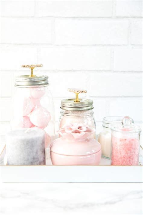 jar bathroom vanity organizer