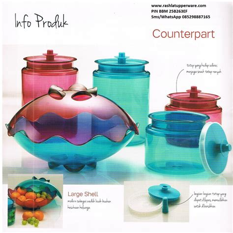 Large Shell Tupperware katalog activity tupperware desember 2015 rashla katalog