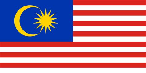 flags of the world malaysia malaysian flag from the flags of the world database