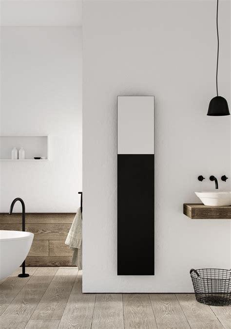 badkamer radiator spiegel designradiator volata met spiegel