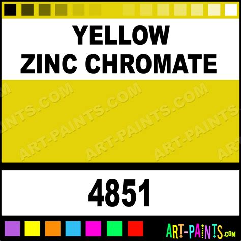 yellow zinc chromate artist airbrush spray paints 4851 yellow zinc chromate paint yellow