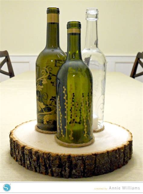 wine birthday candle wine bottle candle holder by annie williams love this