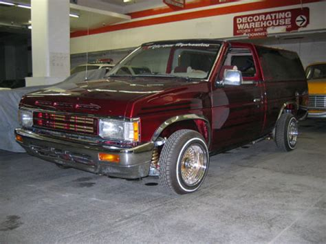 nissan truck 90s 1990 nissan lowrider truck with hydraulics