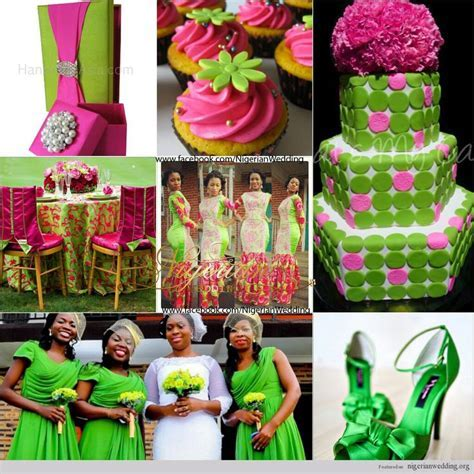 1000  images about Nigerian Wedding Color Schemes & Themes