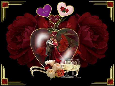 wallpaper couple with rose romantic pictures and valentines day pictures