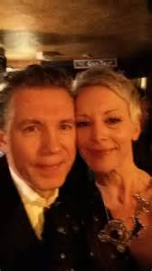 Comedian lee evans enjoyed a night out at his local in billericay on